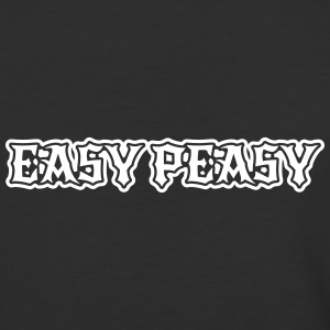 easy peasy saying T-Shirts - Baseball T-Shirt
