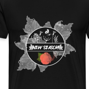 New Season Black Tee - Men's Premium T-Shirt