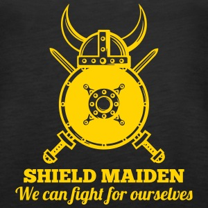 SHIELD MAIDEN - We can fight for ourselves Tanks - Women's Premium Tank Top