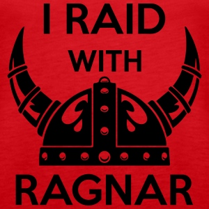 Viking - I raid with ragnar Tanks - Women's Premium Tank Top