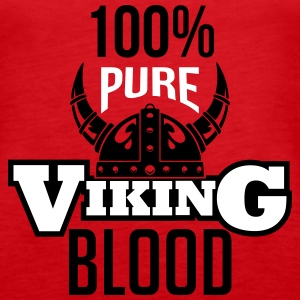 100% pure viking blood Tanks - Women's Premium Tank Top