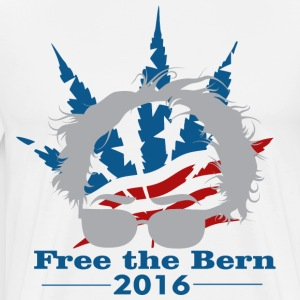 Bernie Sanders 2016 Free the Bern, Feel The Bern  - Men's Premium T-Shirt