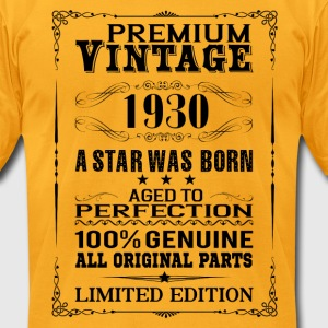 PREMIUM VINTAGE 1930 T-Shirts - Men's T-Shirt by American Apparel