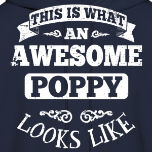 Awesome Papaw Looks Like Hoodies - Men's Hoodie