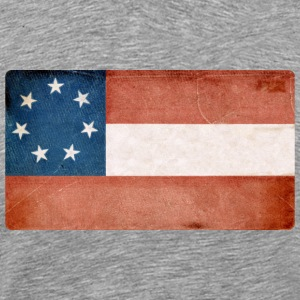 First Confederate Flag Stars and Bars Rebel - Men's Premium T-Shirt