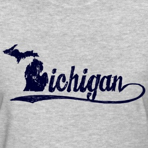 Michigan Script Women's T-Shirts - Women's T-Shirt