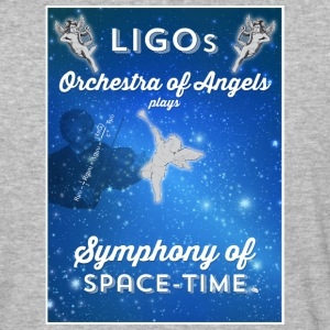 LIGO - Symphony of Space-Time - Baseball T-Shirt