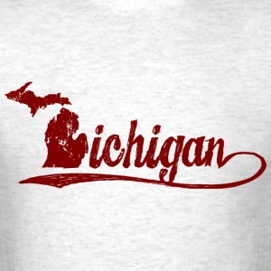 Michigan Script T-Shirts - Men's T-Shirt