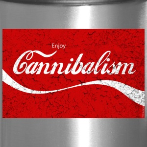 Enjoy CANNIBALISM! Mugs & Drinkware - Travel Mug
