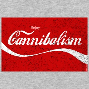 Enjoy CANNIBALISM! T-Shirts - Baseball T-Shirt