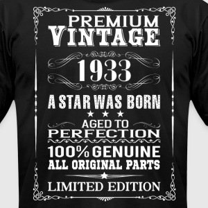 PREMIUM VINTAGE 1933 T-Shirts - Men's T-Shirt by American Apparel