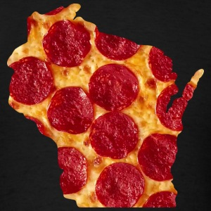 Wisconsin Pizza State T-Shirts - Men's T-Shirt