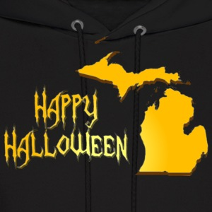 Happy Michigan Halloween Hoodies - Men's Hoodie