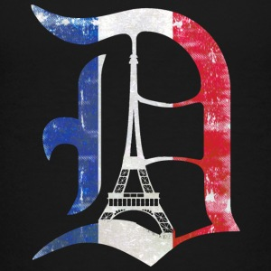 Detroit Stand with Paris Kids' Shirts - Kids' Premium T-Shirt