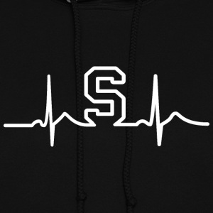 MSU State Heart Beat Pulse Hoodies - Women's Hoodie