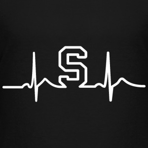 MSU State Heart Beat Pulse Kids' Shirts - Kids' Premium T-Shirt