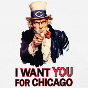 Want You For Chicago USA Uncle Sam Women's T-Shirts - Women's T-Shirt