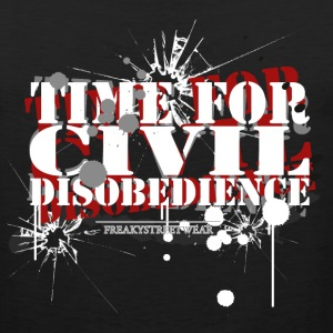 civil disobedience Tank Tops - Men's Premium Tank