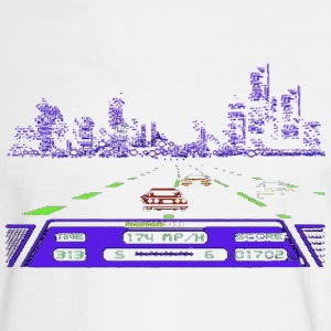 Rad Racer Detroit Long Sleeve Shirts - Men's Long Sleeve T-Shirt