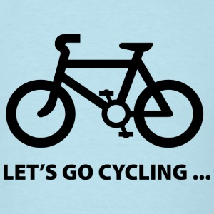 Let's Go Cycling... - Men's T-Shirt