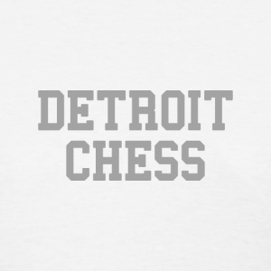 Detroit Chess Women's T-Shirts - Women's T-Shirt