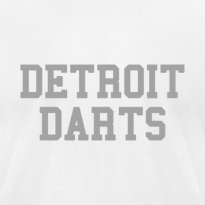 Detroit Darts T-Shirts - Men's T-Shirt by American Apparel