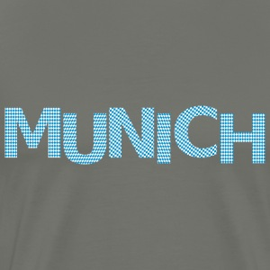Munich bavarian flag Premium T-Shirt - Men's Premium T-Shirt