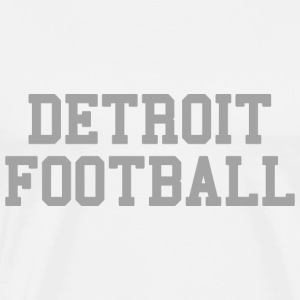 Detrot Football T-Shirts - Men's Premium T-Shirt
