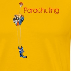 parachuting T-Shirts