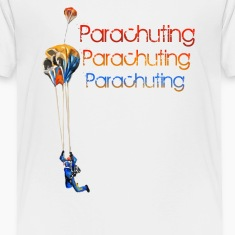 parachuting Baby & Toddler Shirts