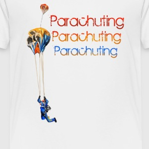 parachuting Baby & Toddler Shirts - Toddler Premium T-Shirt