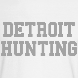 Detroit Hunting Long Sleeve Shirts - Men's Long Sleeve T-Shirt