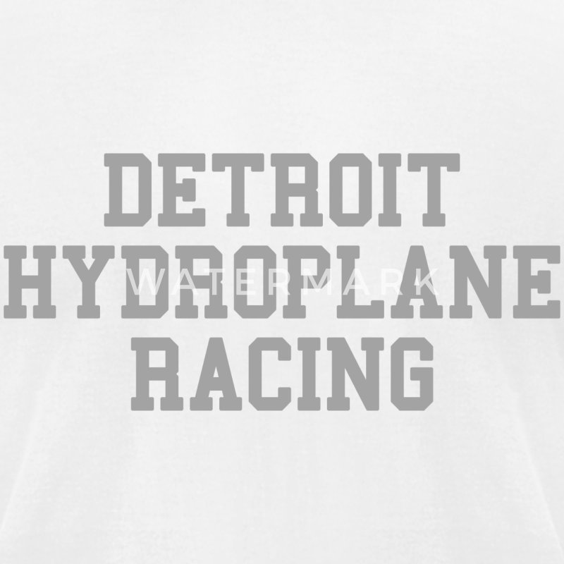 Detroit Hydroplane Racing T-Shirts - Men's T-Shirt by American Apparel