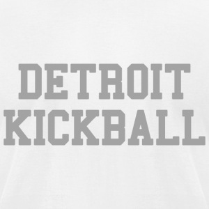 Detroit Kickball T-Shirts - Men's T-Shirt by American Apparel