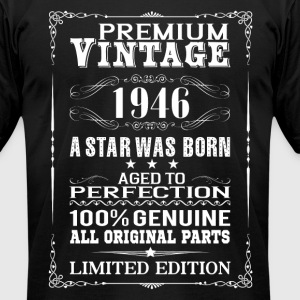 PREMIUM VINTAGE 1946 T-Shirts - Men's T-Shirt by American Apparel