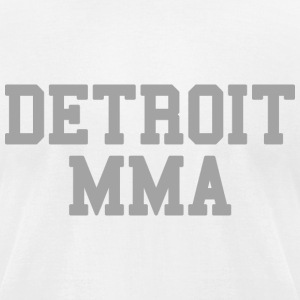Detroit MMA T-Shirts - Men's T-Shirt by American Apparel