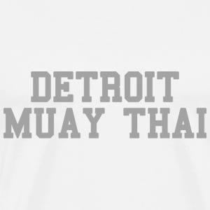 Detroit Muay Thai T-Shirts - Men's Premium T-Shirt