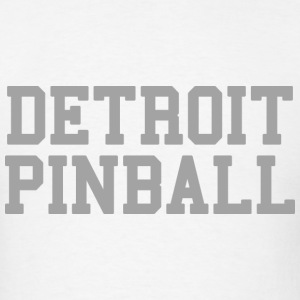 Detroit Pinball T-Shirts - Men's T-Shirt