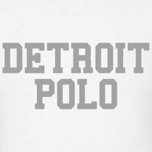 Detroit Polo T-Shirts - Men's T-Shirt