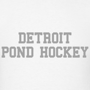 Detroit Pond Hockey T-Shirts - Men's T-Shirt
