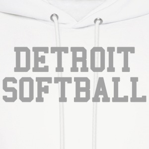 Detroit Softball Hoodies - Men's Hoodie