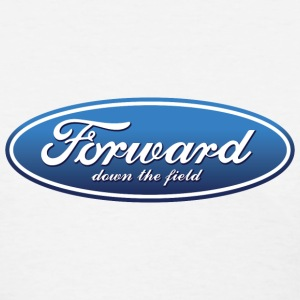 Forward Down the Field Detroit Women's T-Shirts - Women's T-Shirt