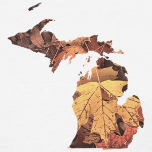 Michigan Autumn Fall Leaves Women's T-Shirts - Women's T-Shirt