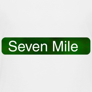 Seven Mile Detroit Sign Baby & Toddler Shirts - Toddler Premium T-Shirt
