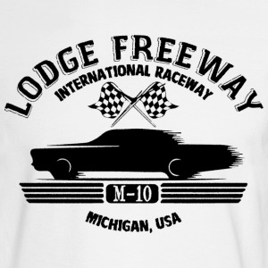Detroit Lodge Freeway Raceway Long Sleeve Shirts - Men's Long Sleeve T-Shirt