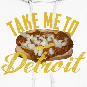 Take Me Detroit Coney Dog Hoodies - Women's Hoodie