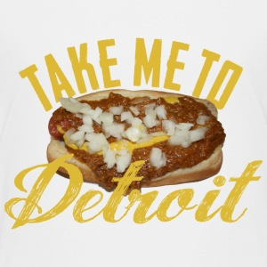 Take Me Detroit Coney Dog Kids' Shirts - Kids' Premium T-Shirt
