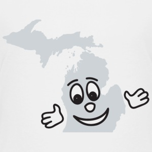 A Cute Smile Smiley Michigan  Kids' Shirts - Kids' Premium T-Shirt