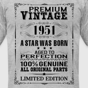 PREMIUM VINTAGE 1951 T-Shirts - Men's T-Shirt by American Apparel