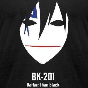 BK-201 Mask - Men's T-Shirt by American Apparel